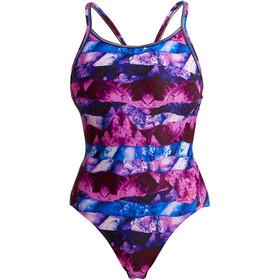 Funkita Diamond Back Swimsuit Women, Multicolor
